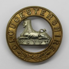 Gloucestershire Regiment Bi-Metal Helmet Plate Centre