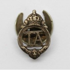 Territorial Army (T.A.) Lapel Badge - King's Crown
