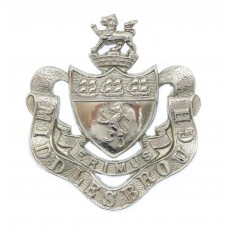 Middlesbrough Borough Police Coat of Arms Helmet Plate