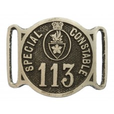 Leicester City Police Special Constable Armband Badge