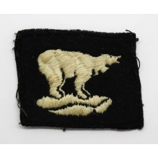49th (West Riding) Division Cloth Formation Sign