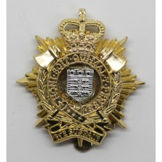 Royal Logistic Corps (R.L.C.) Anodised (Staybrite) Cap Badge