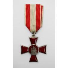 WW1 Hamburg Hanseatic Cross 1914