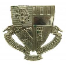 Aberdeen University O.T.C. Cap Badge
