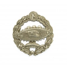 WW2 South African Tank Corps Collar Badge