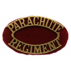 Parachute Regiment (PARACHUTE/REGIMENT) Shoulder Title