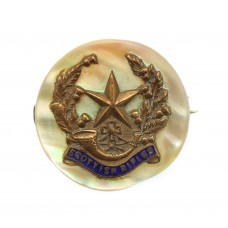 The Cameronians (Scottish Rifles) Sweetheart Brooch