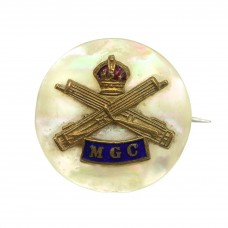 WW1 Machine Gun Corps (M.G.C.) Sweetheart Brooch