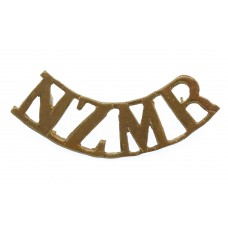 New Zealand Mounted Rifles (N.Z.M.R.) Shoulder Title