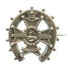 Boer War Sherwood Foresters (Derbyshire Regiment) 1899 Hallmarked