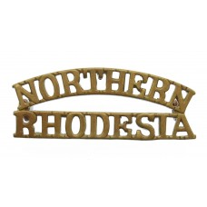 Northern Rhodesia Regiment (NORTHERN/RHODESIA) Shoulder Title