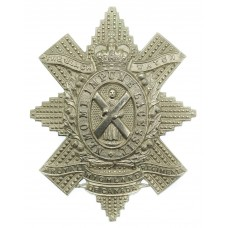 Canadian The Black Watch (Royal Highland Regiment of Canada) Cap Badge - Queen's Crown