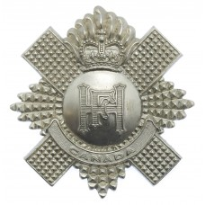 Highland Fusiliers of Canada Cap Badge - Queen's Crown