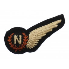 WW2 Royal Air Force (R.A.F.) Navigator Padded Aircrew Brevet