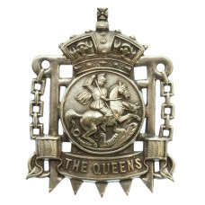 Victorian Queen's Westminster Rifles Pouch Belt Plate