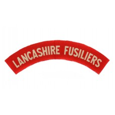 Lancashire Fusiliers WW2 Printed Shoulder Title