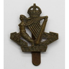 North Irish Horse Beret Badge - King's Crown