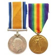 WW1 British War & Victory Medal Pair - Pte. A. Mason, Royal Berkshire Regiment