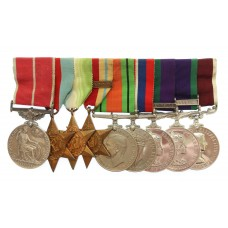 Post War BEM, WW2, GSM (Clasp - Arabian Peninsula), CSM (Clasp - South Arabia) and RAF LS&GC Medal Group of Nine - Sqdn. Ldr. D.W. Gilbert, Royal Air Force