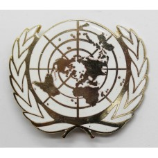 United Nations Peace Keeping Force Beret Badge