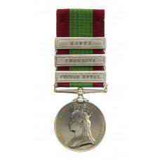 Afghanistan Medal 1878-80 (Clasps - Peiwar Kotal, Charasia, Kabul