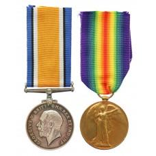 WW1 British War & Victory Medal Pair - A.Sjt. D. MacEwen, Royal Scots