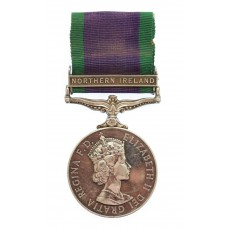 Campaign Service Medal (Clasp - Northern Ireland) - Gnr. J.P. Cunliffe, Royal Artillery