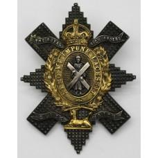 Black Watch (The Royal Highlanders) Officer's Glengarry Badge - K