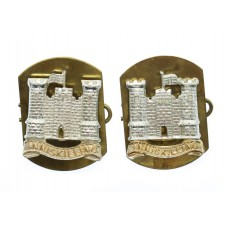 Pair of 5th Royal Inniskilling Dragoons Guards Anodised (Staybrit