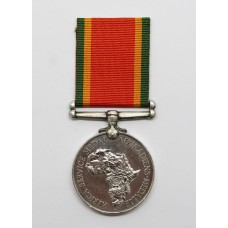 WW2 Africa Service Medal - M24863 G. Lawrence