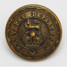 Army Pay Department Officer's Button - King's Crown (Large)