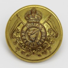 5th Royal Irish Lancers Officer's Button - King's Crown (Large)
