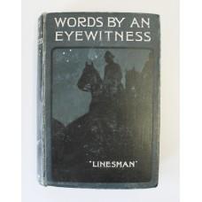 Book - Words By An Eyewitness
