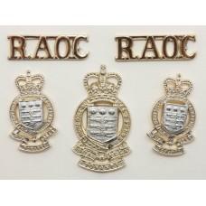 Royal Army Ordnance Corps (R.A.O.C.) Anodised (Staybrite) Badge S