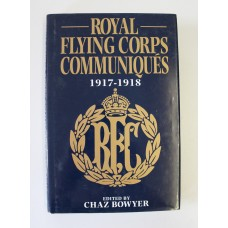 Book - Royal Flying Corps Communiques 1917-1918