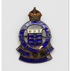 Royal Army Ordnance Corps (R.A.O.C.) Silver & Enamel Sweethea