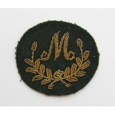 Royal Marine Mortar Trade Bullion Arm Badge