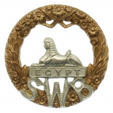 Victorian /Edwardian South Wales Borderers Cap Badge