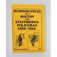 Book - Reminiscences of a Bolton and Stalybridge Policeman 1888-1922