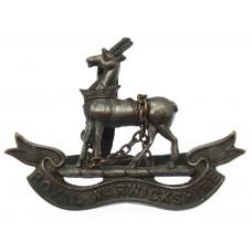 Royal Warwickshire Regiment Officer's Service Dress Cap Badge