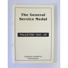 "Book - The General Service Medal ""Palestine 1945-48"""