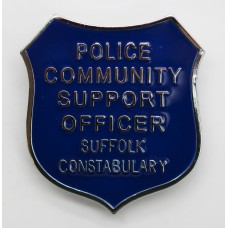 Suffolk Constabulary Police Community Support Officer Cap Badge