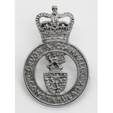 Devon & Cornwall Constabulary Cap Badge - Queen's Crown
