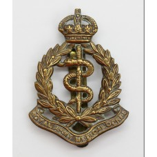 Royal Army Medical Corps (R.A.M.C.) Cap Badge - Kings Crown