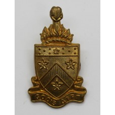 Alleyn's School London O.T.C. Cap Badge