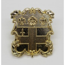 Christ's Hospital Horsham C.C.F. Anodised (Staybrite) Cap Badge