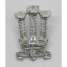 Welsh Brigade Anodised (Staybrite) Cap Badge