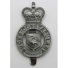 Buckinghamshire Constabulary Cap Badge - Queen's Crown