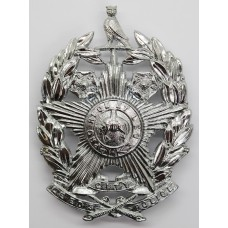 Leeds City Police Helmet Plate (Chrome)