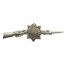 WWI Army Service Corps (A.S.C.) 1915 Hallmarked Silver Rifle Sweetheart Brooch